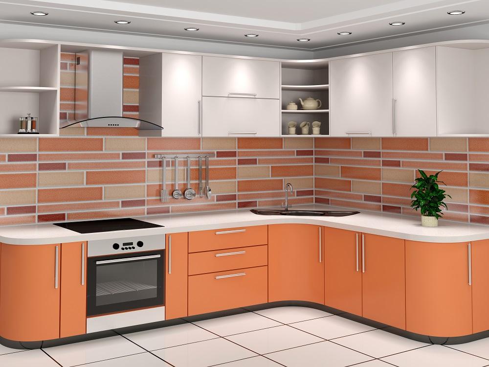 Uniwersalne płytki kuchenne – Aqua Rain -> Kuchnia Plytki Mozaika